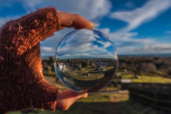 Yorkshire through a ball Shutterstock