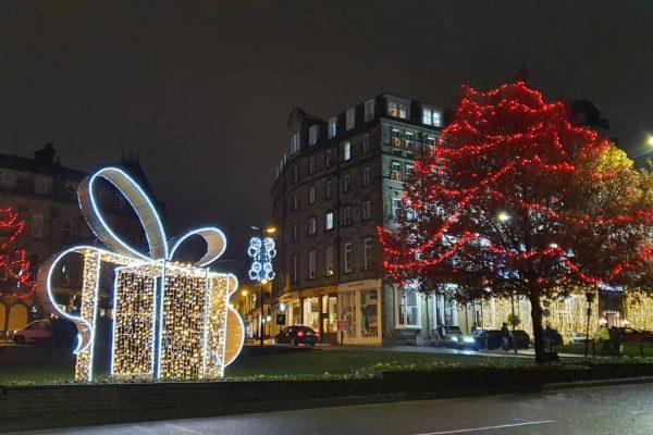 Harrogate Christmas lights